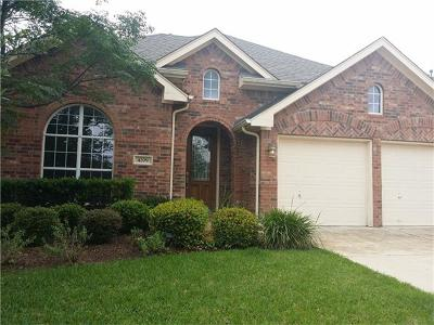 Round Rock Rental For Rent: 4209 Windberry Ct
