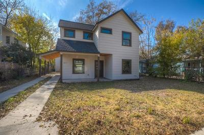 Austin Single Family Home For Sale: 2617 Willow St #1