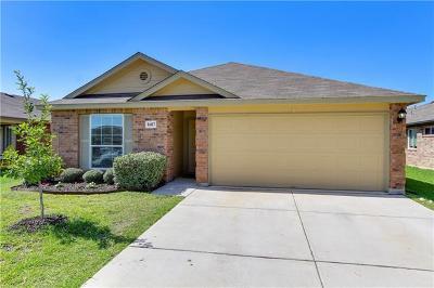 Lockhart Single Family Home Pending - Taking Backups: 1607 Windridge Dr