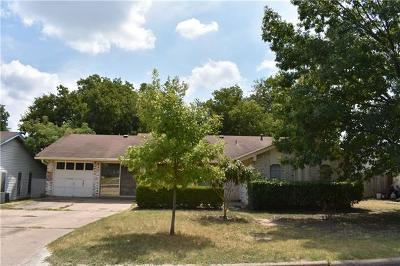 Austin Single Family Home For Sale: 9635 Newfoundland Cir