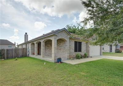 Round Rock Single Family Home For Sale: 19709 San Chisolm Dr
