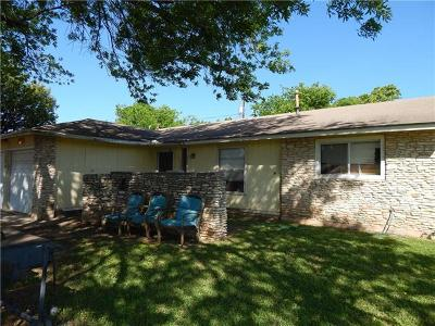 Round Rock Single Family Home For Sale: 1600 Normeadows Cir