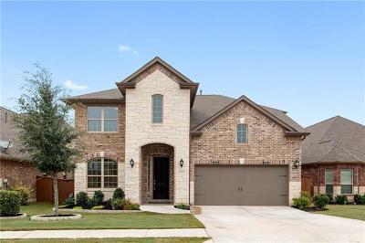Round Rock Single Family Home Pending - Taking Backups: 4805 Terraza Trl