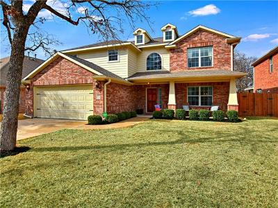 Cedar Park TX Single Family Home For Sale: $370,000