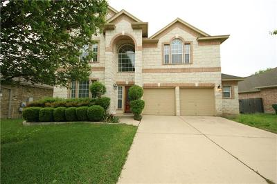 Round Rock Single Family Home For Sale: 7004 Evans Dr