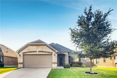 Hutto Single Family Home For Sale: 127 Wallin Farms Dr