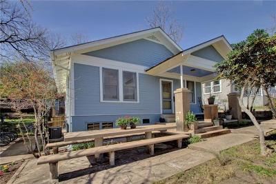 Travis County Single Family Home For Sale: 906 Maufrais St