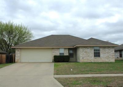 Killeen Single Family Home For Sale: 4206 Lonesome Dove Dr