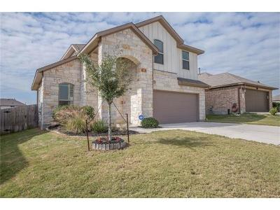 Buda Single Family Home For Sale: 204 Wildfire Cv