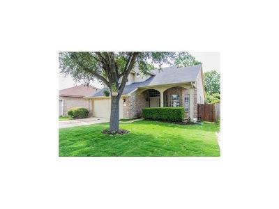 Pflugerville Single Family Home For Sale: 1111 Gazania Dr