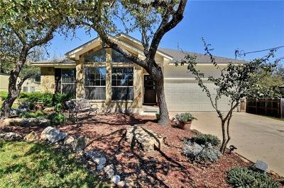 Dripping Springs TX Single Family Home Pending - Taking Backups: $328,500