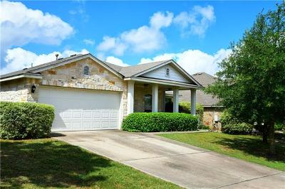 Pflugerville Single Family Home For Sale: 1317 Honey Blossom Dr