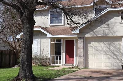 Cedar Park Rental For Rent: 719 Cluck Creek Trl