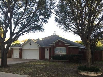 Travis County, Williamson County Single Family Home Pending - Taking Backups: 8401 Caledonia Dr