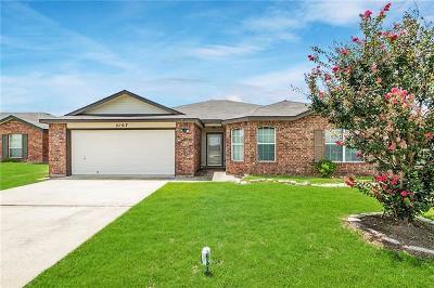 Killeen Single Family Home For Sale: 5107 Lauren Lea Dr