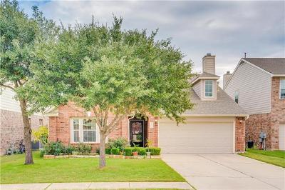 Leander Single Family Home For Sale: 2802 Stirrup Cv