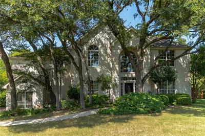 Round Rock Single Family Home For Sale: 1 Bluff Vw