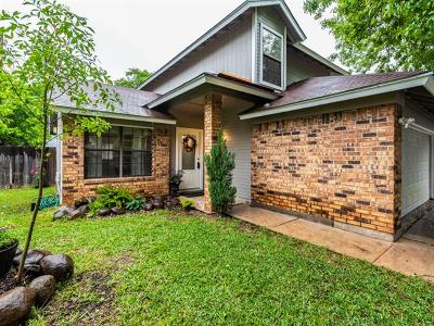 Round Rock Single Family Home For Sale: 1700 Tamra Ct