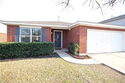 Leander Single Family Home For Sale: 406 Glen Valley Dr