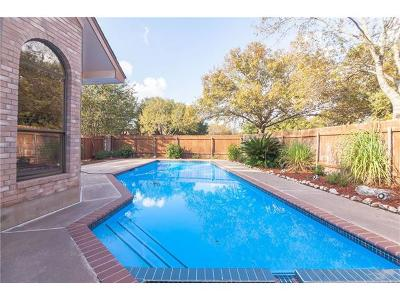 Round Rock Single Family Home For Sale: 2 Hillview Dr