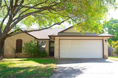 Cedar Park Single Family Home For Sale: 918 Dover Pass