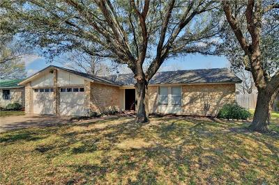 Taylor Single Family Home For Sale: 1418 Hillcrest Dr