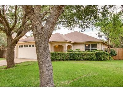 Cedar Park Single Family Home For Sale: 1620 Paper Moon Dr
