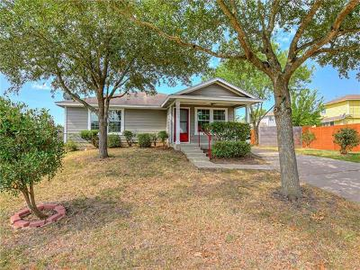Manor Single Family Home For Sale: 18028 Powder Creek Dr