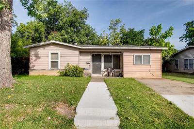 Travis County Single Family Home Pending - Taking Backups: 4908 Caswell Ave