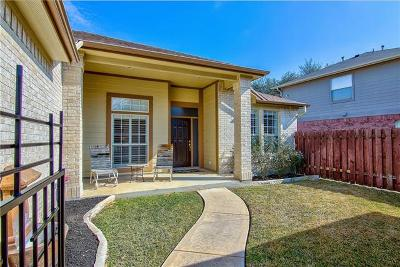 Cedar Park Single Family Home For Sale: 106 Cluck Creek Trl