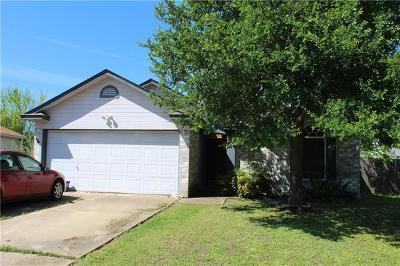 Leander Single Family Home Pending - Taking Backups: 1105 Winecup Ct