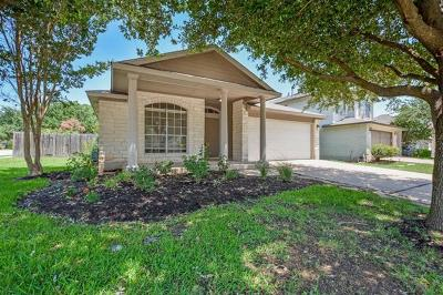Cedar Park Single Family Home Pending - Taking Backups: 730 Leann Ln