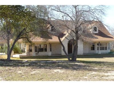 Salado Single Family Home For Sale: 1295 Western Trl