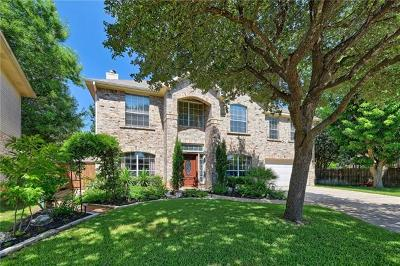 Round Rock Single Family Home Pending - Taking Backups: 17702 Miller Falls Cv
