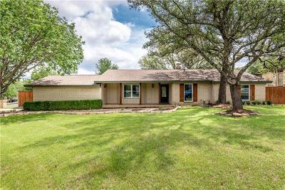 Leander Single Family Home For Sale: 1000 Oakwood Dr