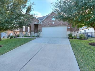 Round Rock Single Family Home Pending - Taking Backups: 1601 Greenside Dr