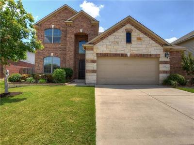 Round Rock Single Family Home For Sale: 1011 Preserve Pl