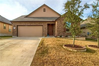 Round Rock Single Family Home For Sale: 5825 Sardinia Dr