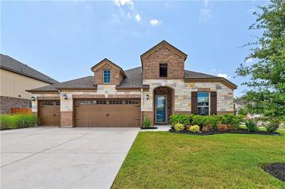 Round Rock Single Family Home For Sale: 2301 Ox Wagon Trl