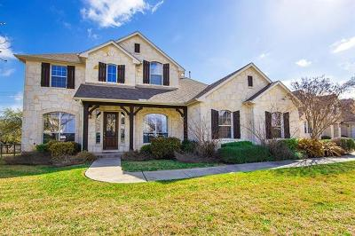 Leander Single Family Home For Sale: 2106 First Vw
