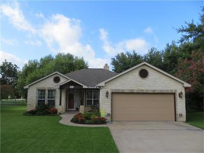 Burnet County Single Family Home For Sale: 314 Bluebird Cir
