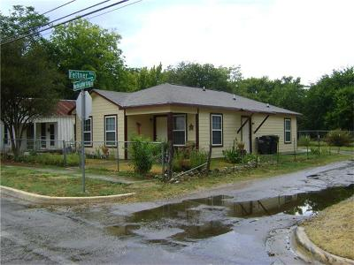 San Marcos Single Family Home Pending - Taking Backups: 202 W Martin Luther King Dr