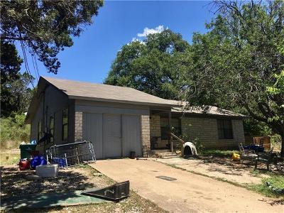 Jonestown Single Family Home For Sale: 18506 Lake Terrace Dr