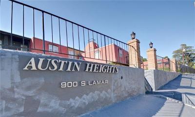 Austin TX Condo/Townhouse For Sale: $275,000