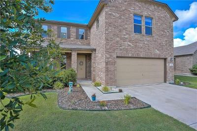 Round Rock Single Family Home For Sale: 1200 Hyde Park Dr