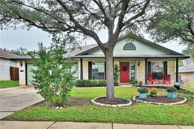 Cedar Park Single Family Home Pending - Taking Backups: 1207 Highland Dr