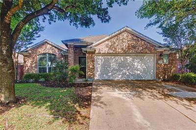 Round Rock Single Family Home For Sale: 4331 Fairway Path