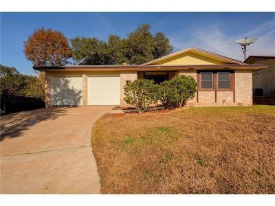 Single Family Home For Sale: 5304 Meadow Creek Cir