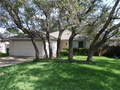Cedar Park Single Family Home For Sale: 2104 Coachlamp Dr
