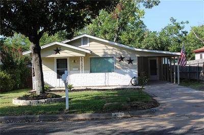 Travis County Single Family Home For Sale: 4705 Oak Cliff Dr